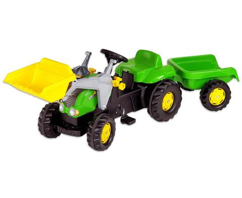 Traktor mit Anhaenger-1