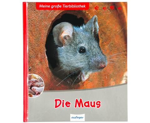 Meine grosse Tierbibliothek - Die Maus-1