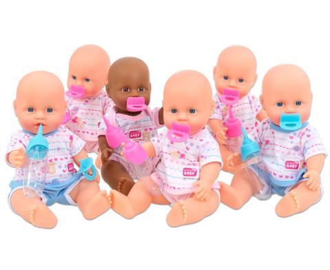 Simba Puppen-Set 6 Stueck