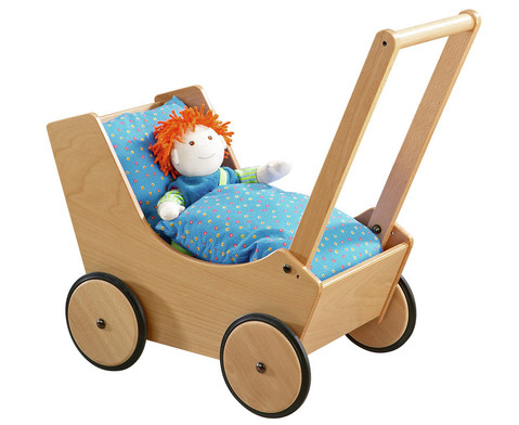 Puppenwagen natur-1