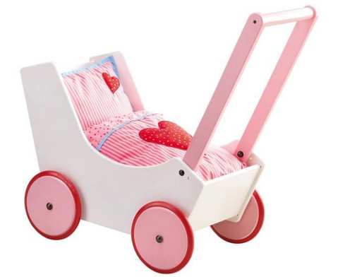 Puppenwagen weiss-2