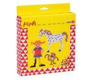 Mini-Bügelperlen Pippi Langstrumpf
