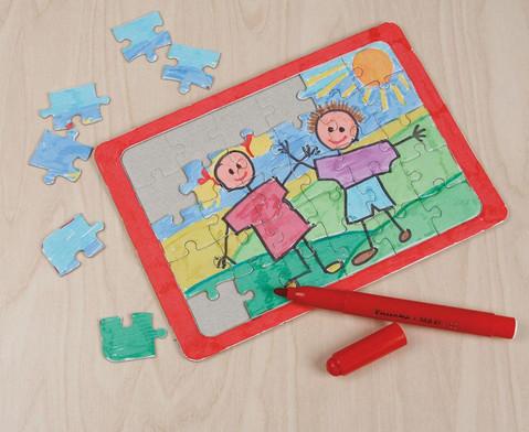 Puzzle mit Rahmen 10 Stueck  DIN A5-1