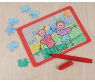 Puzzle mit Rahmen, 10 Stück á DIN A5