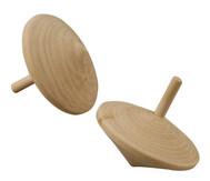 Holzkreisel, 20 Stück, Ø ca. 5 cm