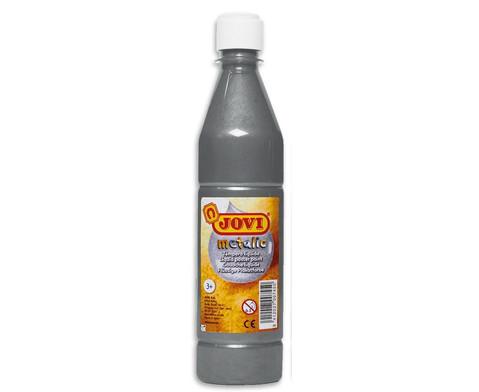 Plakatfarbe silber 500 ml-1