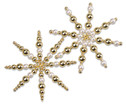 Betzold Drahtsterne-Set Weiss-Gold-2