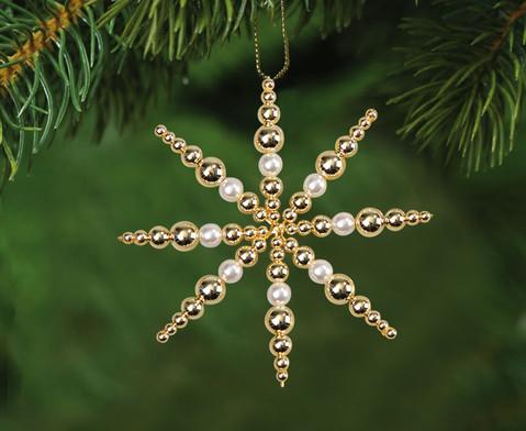 Perlensterne Set weiss-gold-1