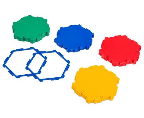 Polydron 20 Sechsecke-2