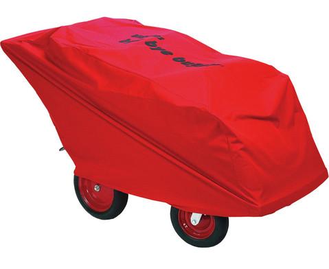 Regenschutz fuer den Krippenbuggy 6 Kinder-1