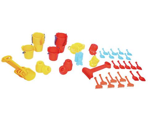 Jumbo Pack Krippen Sandspielzeug 72 teilig-1