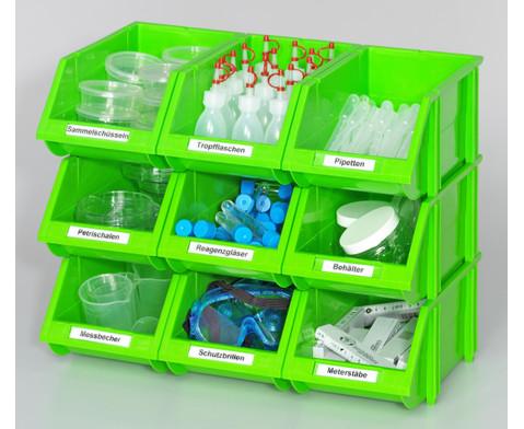 Kleine Stapelboxen Masse B x H x T 15 x 12 x 26 cm-2
