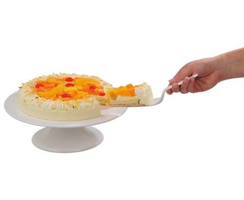 Tortenplatte mit Fuss drehbar-2