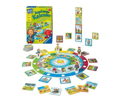Ravensburger Spiel Rund um den Kalender