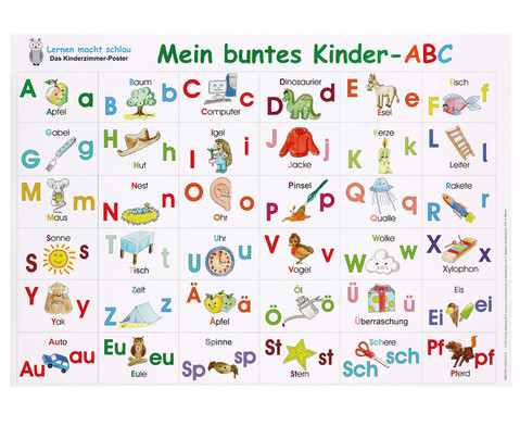 Mein buntes Kinder-ABC Poster-1