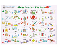 Mein buntes Kinder-ABC, Poster