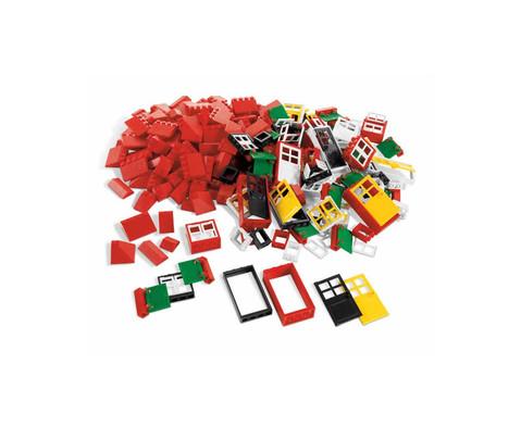 LEGO Education Tueren Fenster und Dachsteine