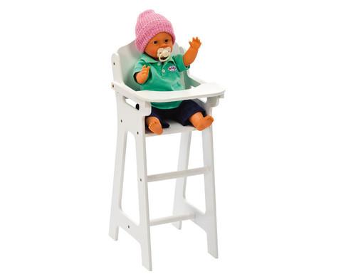 Puppenhochstuhl ohne Puppe