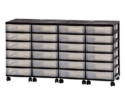 Container-System mit 24 kleinen Schueben-1