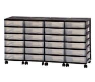 Container-System mit 24 kleinen Schüben