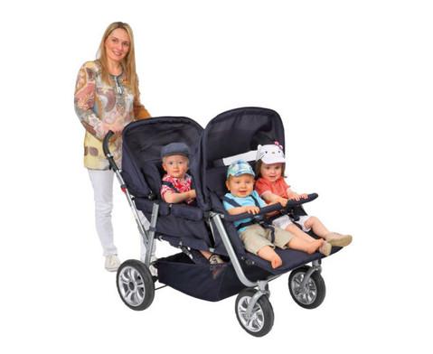 Krippenwagen fuer 4 Kinder-2