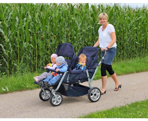 Krippenwagen fuer 4 Kinder-5