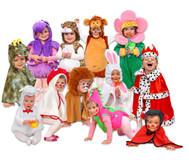 Kleinkinder Kostüm-Set, 12-tlg.