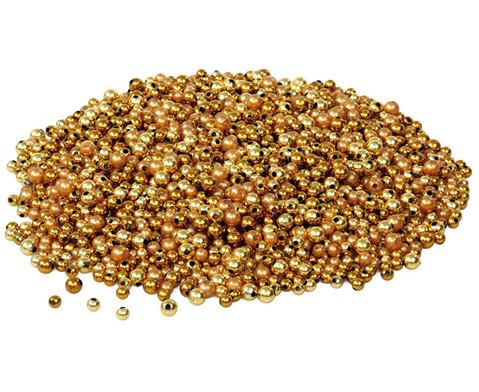 edumero Metallicperlen, Gold-Töne