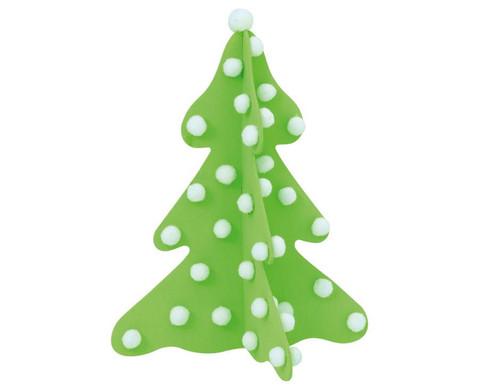 Weihnachtsbaum zum Aufstellen blanko