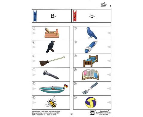 Colorclip Laute hoeren und unterscheiden 1-1