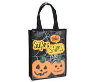 Kunststofftasche mit Einschub, schwarz