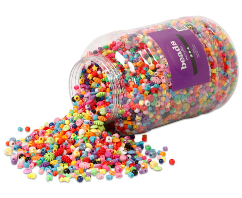 Kunststoffperlen Grosspackung 3 kg