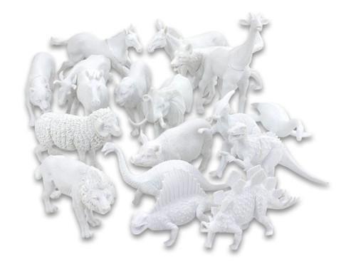 18-tlg Tiere-Set zum Selbstgestalten-11