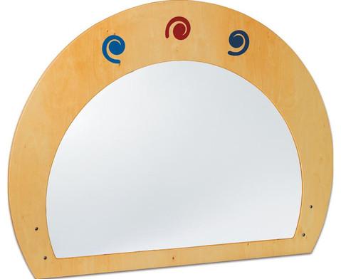 Raumteiler mit Spiegel-1