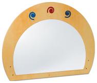 Raumteiler mit Spiegel