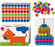 Mosaik-Steckspiel für 4 Kinder
