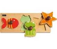 Krippen-Fühl-Puzzle Wassertiere