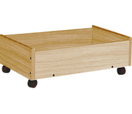 2er-Set Holz-Rollboxen