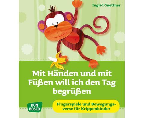 Buch Mit Haenden und mit Fuessen will ich den Tag begruessen-1