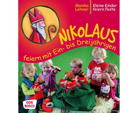 Nikolaus feiern mit Ein- bis Dreijaehrigen-1