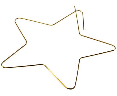 Draht-Sterne-Set in Silbertoenen-2