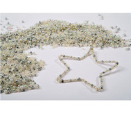 Draht-Sterne-Set in Silbertönen