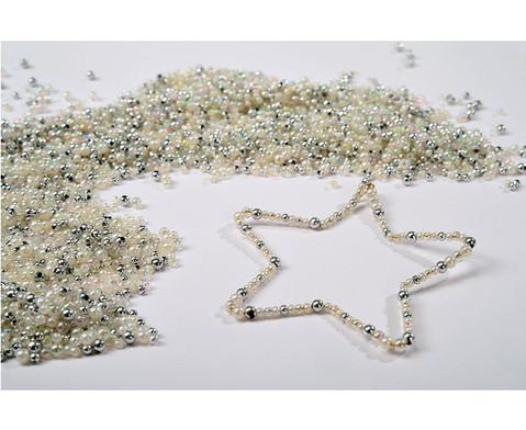 Drahtsterne-Set in Silbertoenen