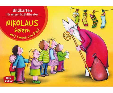 Nikolaus feiern mit Emma und Paul-1
