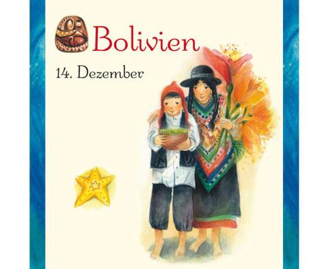 Weihnachten in aller Welt Adventskalender mit 24 Buechlein-9