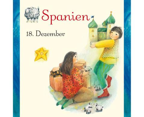 Weihnachten in aller Welt Adventskalender mit 24 Buechlein-22