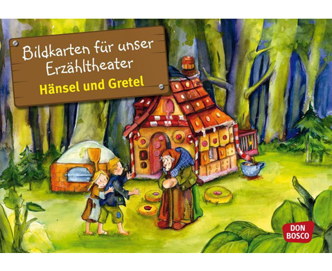 Haensel und Gretel Kamishibai-Bildkartenset