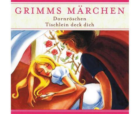 Dornroeschen  Tischlein deck dich CD-1