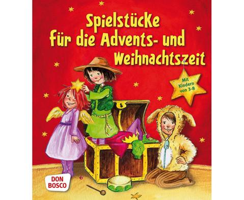 Spielstuecke fuer die Advents- und Weihnachtszeit Buch-1