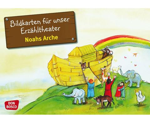 Noahs Arche Kamishibai-Bildkartenset